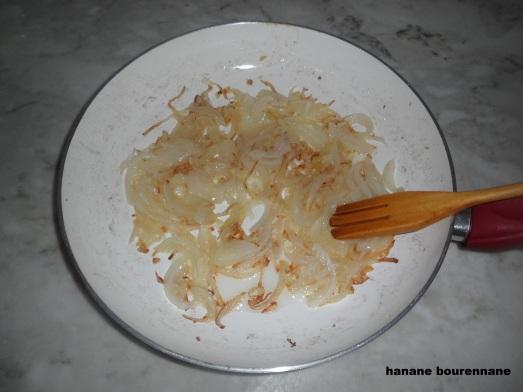 غراتان بطاطا بالسكالوب مع صوص الكريمة و الاجبان